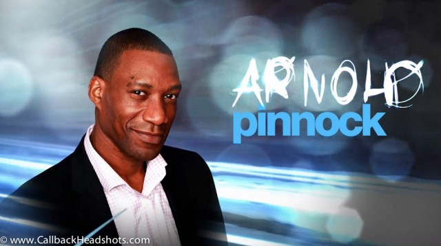 The very funny Arnold Pinnock