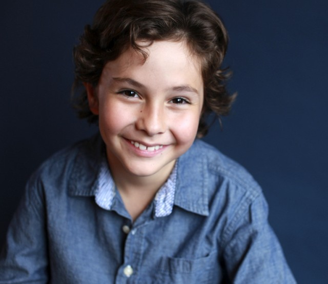 Markus Radan child actor portrait by LA Headshots and Reels
