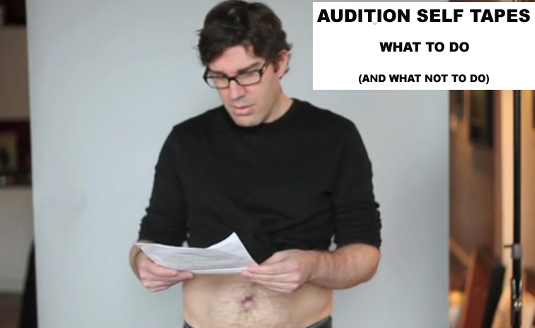 what not to do self tape copy